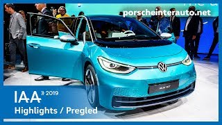 EXCLUSIVE - IAA Frankfurt 2019 Highlights | Porsche Inter Auto