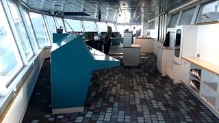 Copenhagen | An Bord Rundgang mit Brücke + Taufe der Scandlines Hybrid Fähre | 4K-Qualitäts-Video