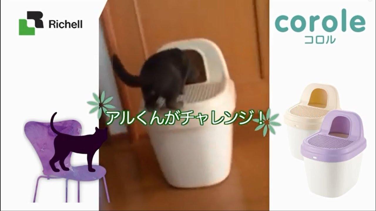 猫 トイレ リッチェル