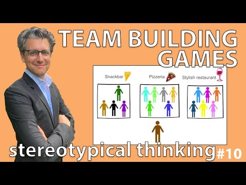 Team building games - Stereotypical thinking #Exercise 10