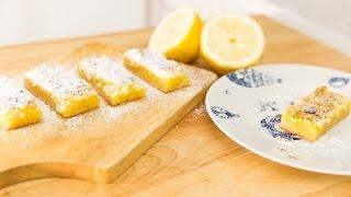 Creme Brûlée Lemon Bars (brulee Bars!!)