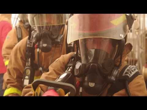 Firefighting at sea
