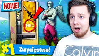 *NOWY* VENDING MACHINE! CO KUPIMY?! | Fortnite (Battle Royale)