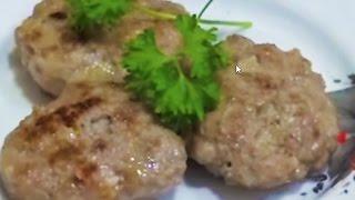 Домашние видео-рецепты - мясо-яблочные котлеты в мультиварке