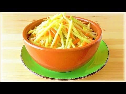 Полезный и вкусный ОСВЕЖАЮЩИЙ салат с редькой #пп