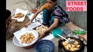Village Street Food* Bengali Traditional Food of Shingara* BD Street Food of Dhaka*Prepared by Woman