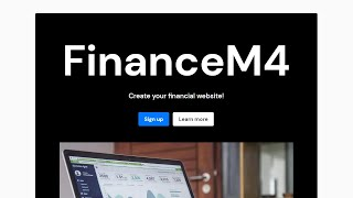 Mobirise Financial Website Theme | FinanceM4