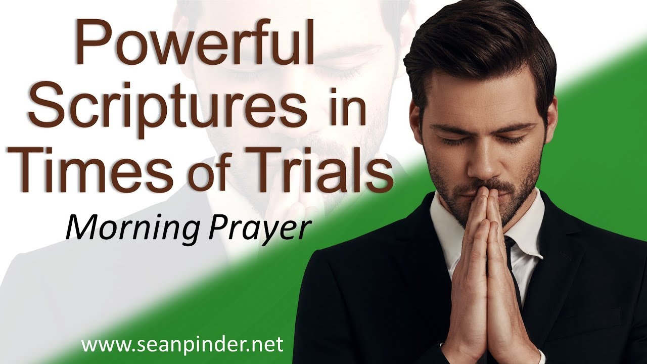 POWERFUL SCRIPTURES IN TIMES OF TRIALS - PSALM 27 - MORNING PRAYER | PASTOR  SEAN PINDER (video)