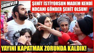 YAYINI KAPATMAK ZORUNDA KALDIK! 23 Haziran İstanbul Seçim Röportajları