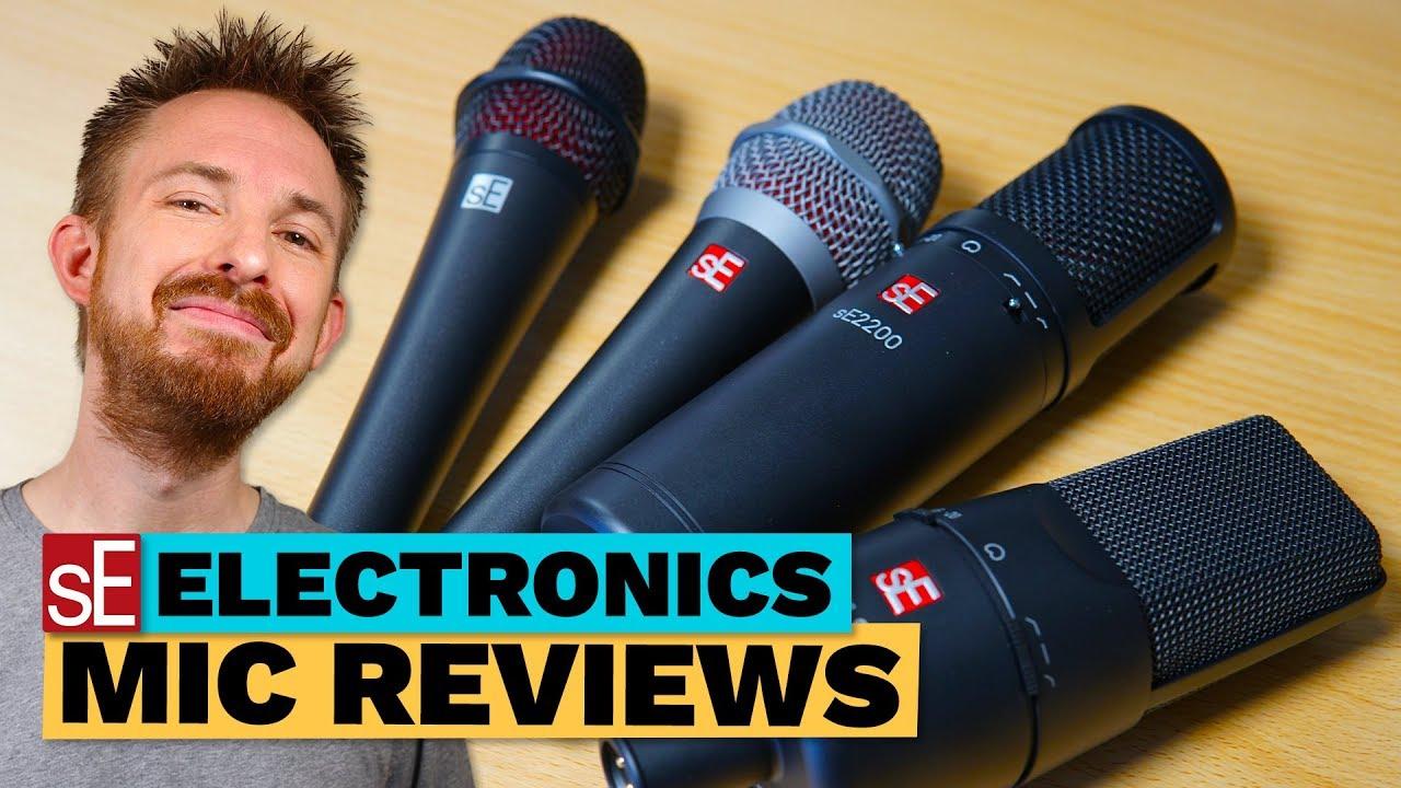 Se Electronics Mic Reviews V3 V7 Se2200 X1 S Studio Bundle