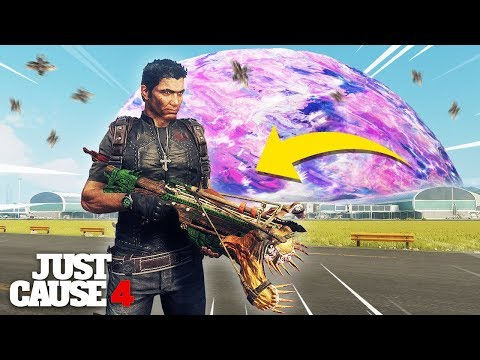 Just Cause 4 - NEW ALIEN CROSSBOW & JUST CAUSE 2 RICO SKIN
