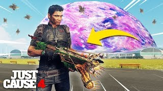 Just Cause 4 - NEW ALIEN CROSSBOW & JUST CAUSE 2 RICO SKIN!