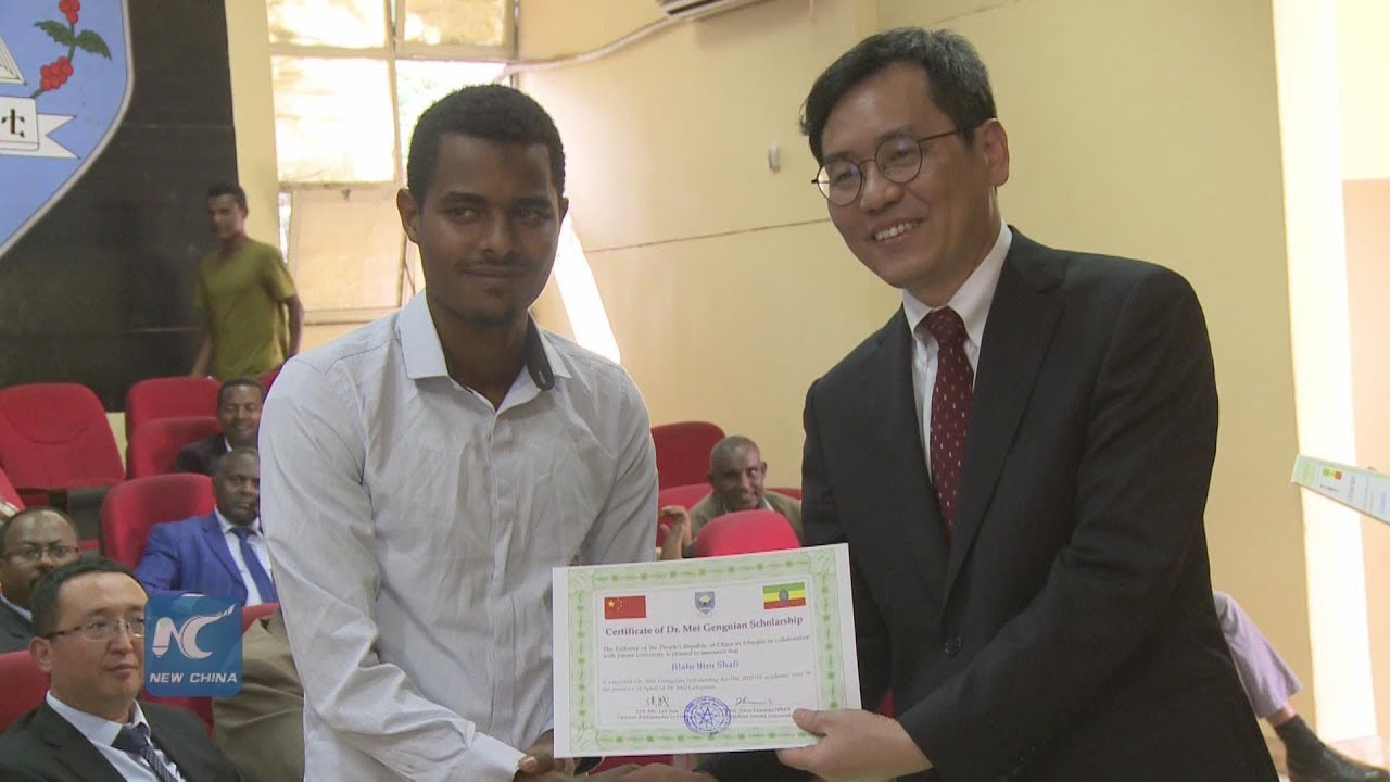 China offers scholarship for Ethiopian students in commemoration of Chinese doctor