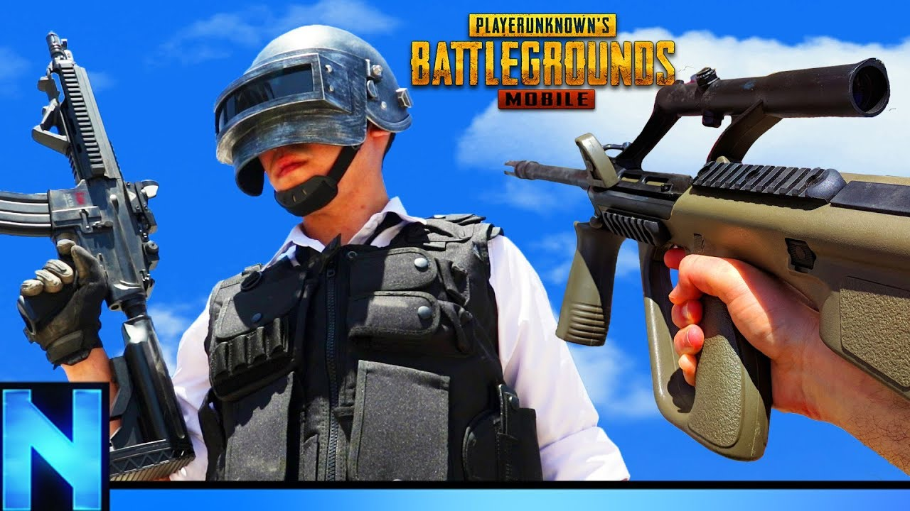 OFFICIAL PUBG Airsoft Game!