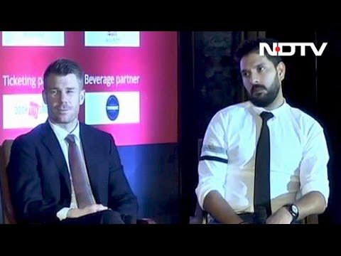 Yuvraj Singh, David Warner Choose Their Favourites For Champions Trophy 2017