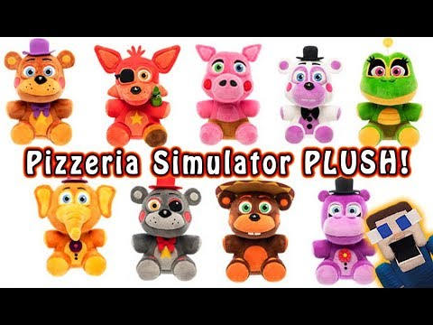FnaF Pizzeria Simulator FUNKO Plush!! Five Nights at Freddy's Exclusive Look! thumbnail