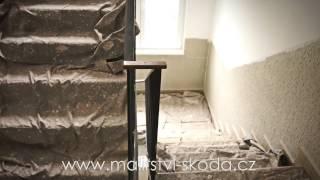 Renovace schodiště