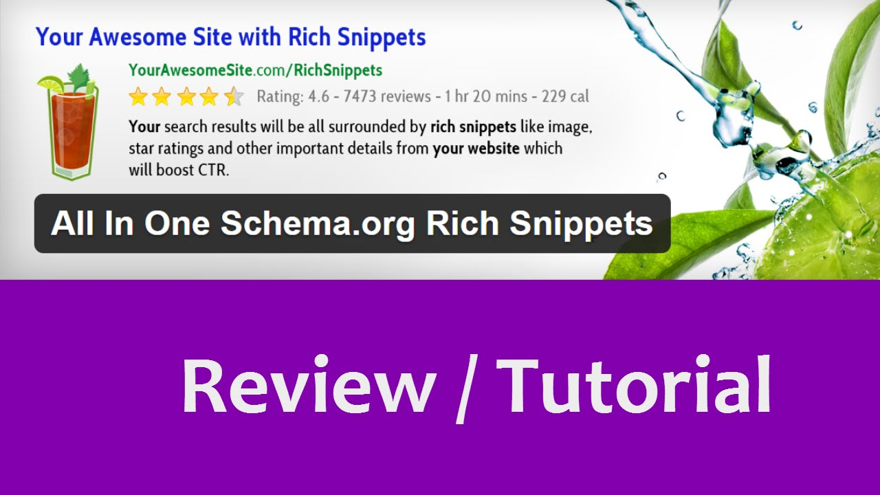 how to add rich snippets