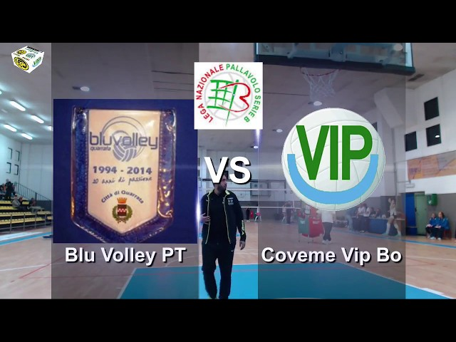 1 ° SERIE B1F GIRONE C 1°BLU VOLLEY QUARRATA PT COVEME S.LAZZARO VIP BO