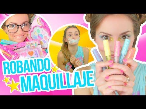 RETO: ¡ME MAQUILLO Y ME PINTO EL PELO CON JUGUETES DE NIÑA! | ¿Katie Petronila se adueñó del canal?