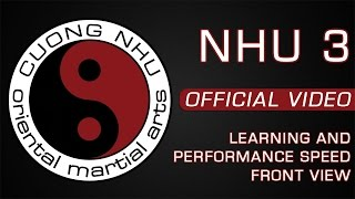 Cuong Nhu - Nhu 3 - Official Kata - Learning & Performance Speed - Front View