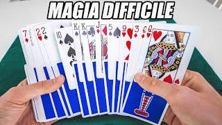 UNA MAGIA DIFFICILE CON LE CARTE / Tutorial