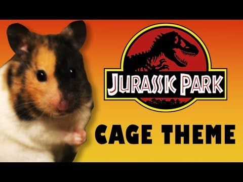 Jurassic Park Hamster Cage Theme Fan Edition Hamster Cage Tour