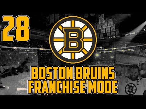 "NHL 17 - Boston Bruins Franchise Mode #28 ""Race To The Finish"""