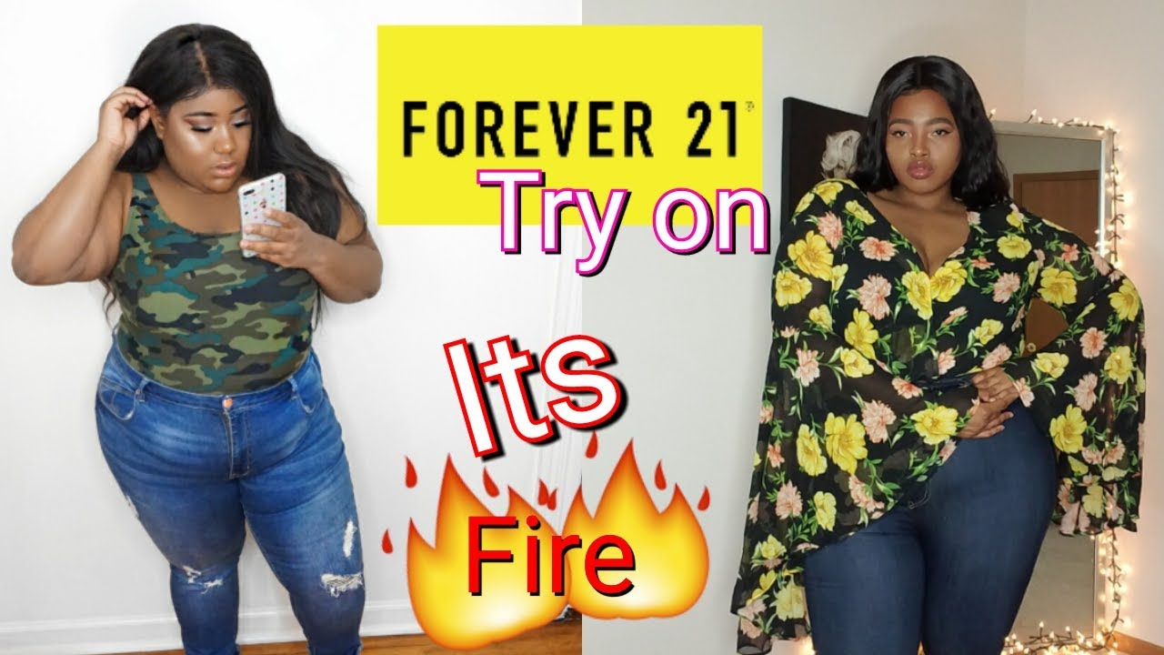 3e108ce423d Spring Forever 21 Plus Size Try On Haul Ft. GlamByCarlyt