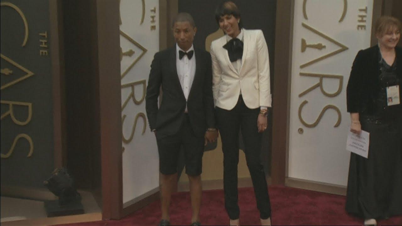 Oscars 2014: Pharrell Williams wears shorts on the Academy ...