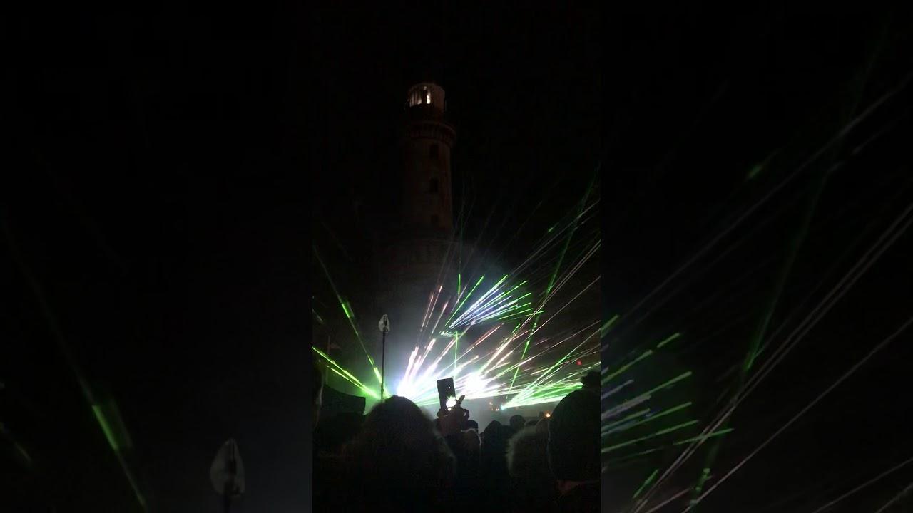 Leuchtturm in flammen 2020