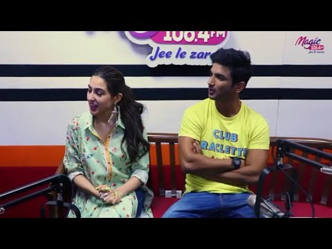 Check Out interview of Sushant Singh Rajput and Sara Ali Khan to find out importance of  education!