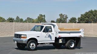 1995 Ford F-Super Duty 3 Yard Dump Truck