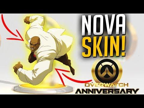 NOVA SKIN LENDÁRIA DOOMFIST SMOKING - OVERWATCH EVENTO ANIVERSÁRIO 2018! - Central thumbnail