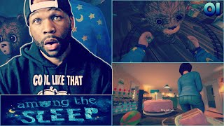 Among the Sleep Part 1 - Mom Got Cakes! (Scary Game)