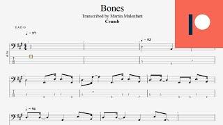 Crumb - Bones (bass tab)