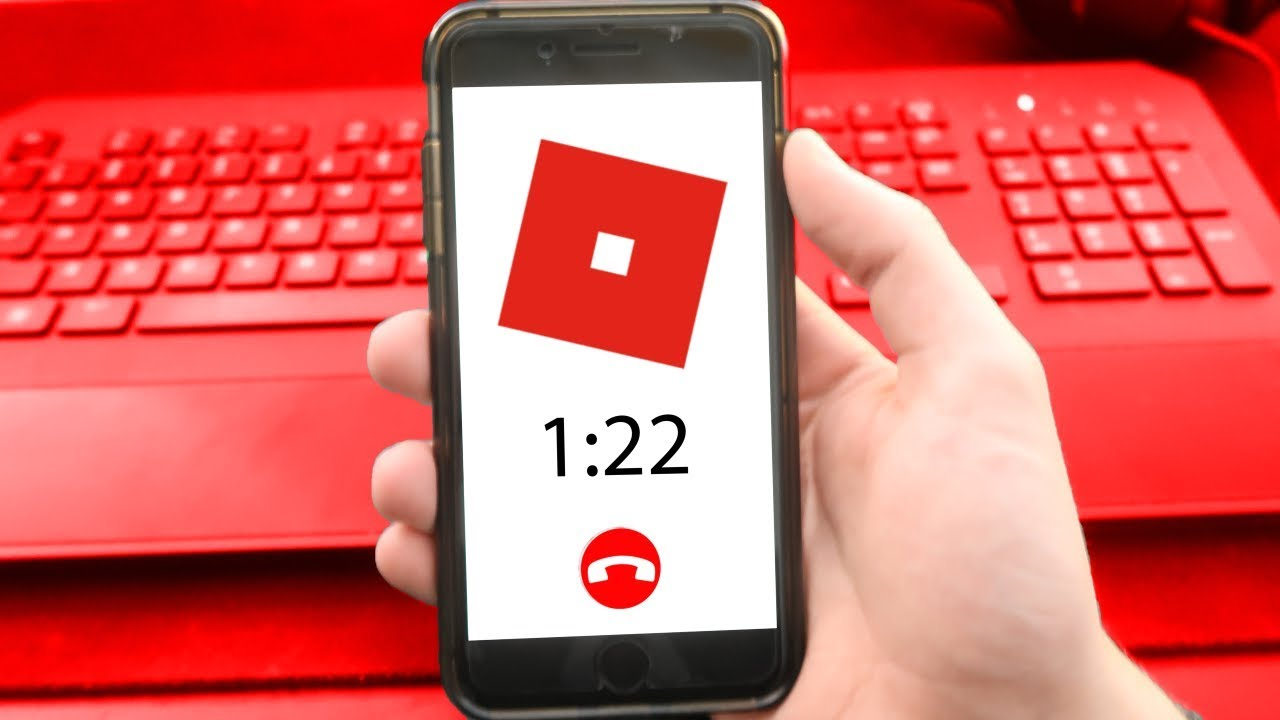Calling Roblox On The Phone Asking For Free Robux Youtube