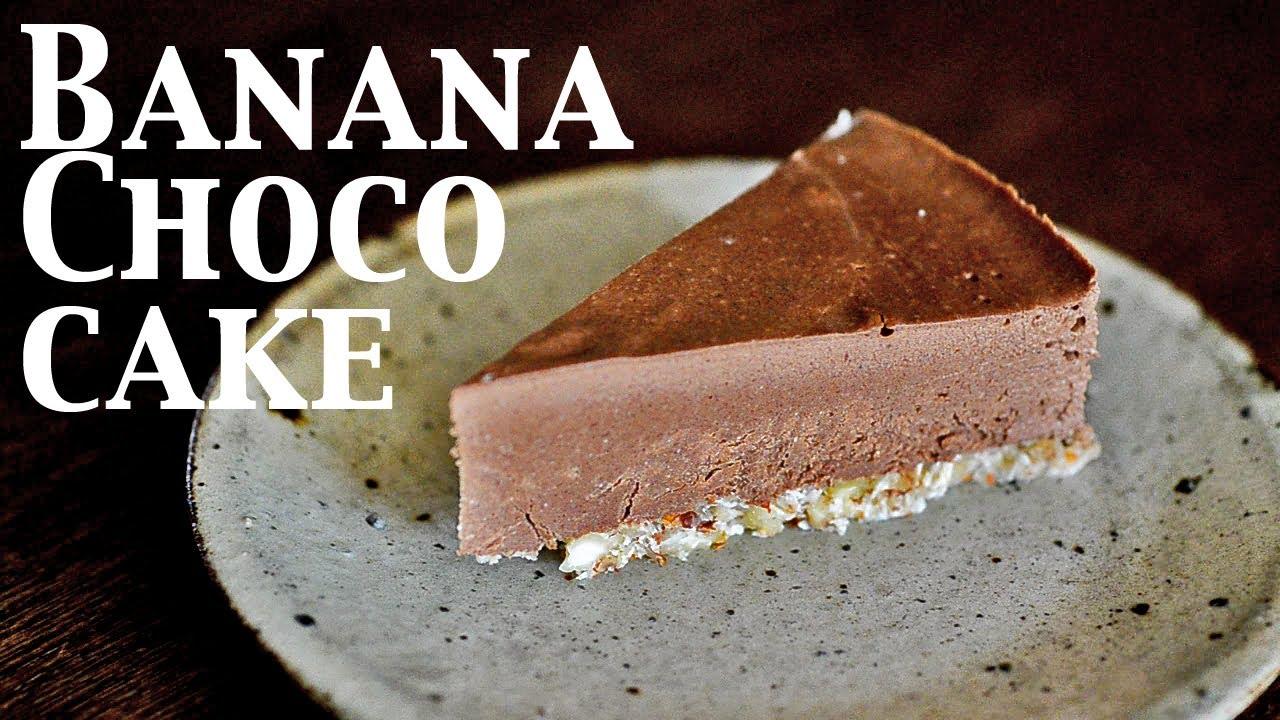 Raw vegan chocolate cake recipe