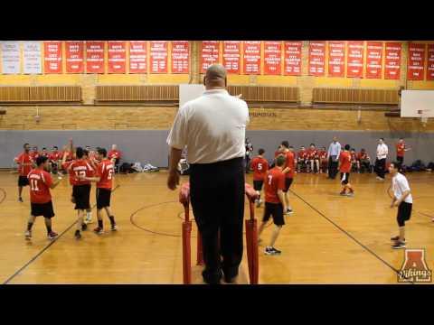 Amundsen High School Boys Volleyball Game 4-2-2014