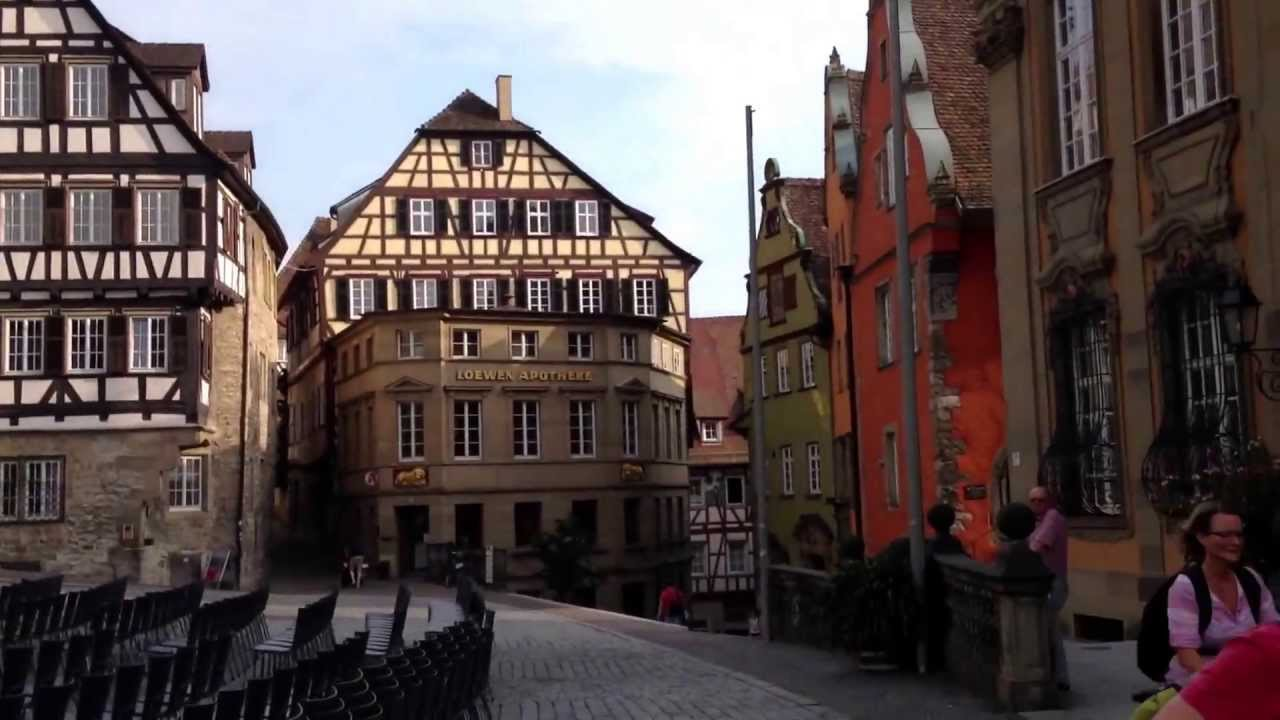Schwäbisch Hall Original German City - YouTube