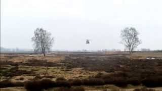 Low Flying CH-47D Chinook Helicopter - Full HD - Ede