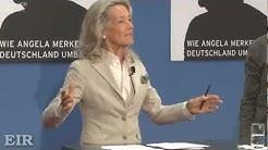 """""""Die Patin - Wie Angela Merkel Deutschland umbaut"""" Prof. Dr. Gertrud Höhler - Pressekonferenz"""