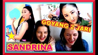 SANDRINA- GOYANG 2 JARI MV REACTION