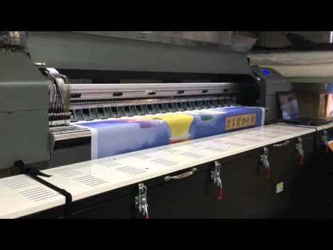 Garros textile fabric printing machine