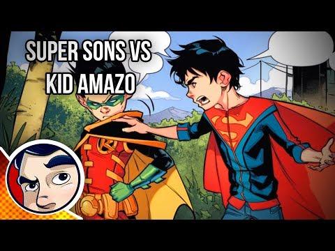 Robin & Superboy SUPER SONS!  Rebirth Complete Story