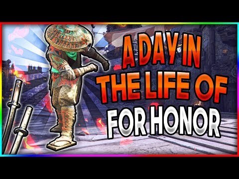 A Day In the Life of For Honor - Aramusha Gameplay