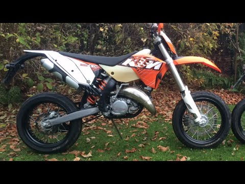 ktm 125 exc 2011 supermoto youtube. Black Bedroom Furniture Sets. Home Design Ideas