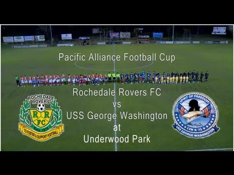 Friendly, Rochedale Rovers vs USS George Washington