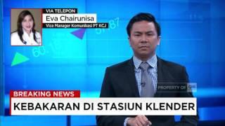 Breaking News! Stasiun Klender Terbakar