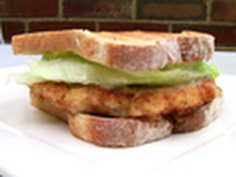 Chicken Schnitzel Sandwich Recipe Youtube